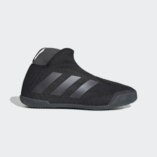 Stycon Laceless Clay Court Schuh Core Black / Night Metallic / Grey Six FV2782