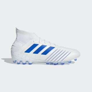 Predator 19.1 Artificial Grass Boots Cloud White / Bold Blue / Cloud White G28981
