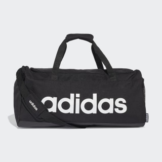 Linear Duffel Bag Black / Black / White FL3651
