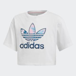 Camiseta Marble Cropped White / Multicolor DV2357