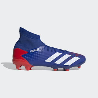 Bota de fútbol Predator 20.3 césped natural seco Team Royal Blue / Cloud White / Active Red EG0964
