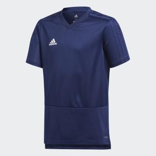 Camiseta entrenamiento Condivo 18 Dark Blue/White CG0377