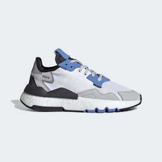 Chaussure Nite Jogger Cloud White / Cloud White / Real Blue EE6440