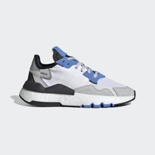 รองเท้า Nite Jogger Cloud White / Cloud White / Real Blue EE6440
