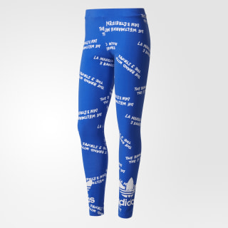 Legging Originals Estampados BLUE/WHITE BJ8355