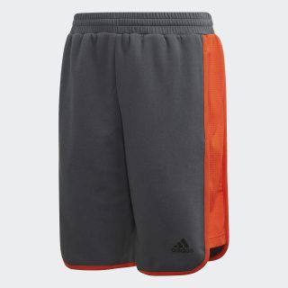 Athletics ID Shorts Grey Six / Active Orange DV1681