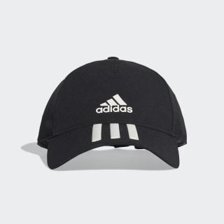 C40 3 Bantlı Climalite Şapka Black / White DT8542