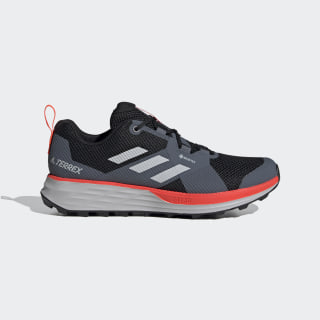 Terrex Two GORE-TEX Trail Running Shoes Core Black / Grey Two / Solar Red EH1833