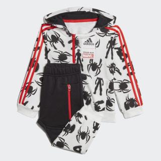 Комплект: худи и брюки Marvel Spider-Man white / black / active red DV0836