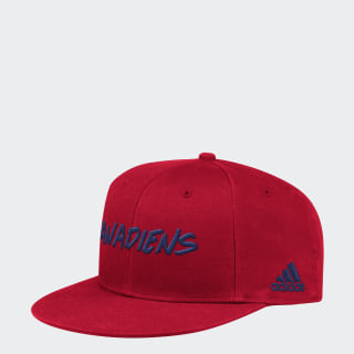 Canadiens Graphic Snapback Hat Nhl-Mca-508 / Power Red FH8261
