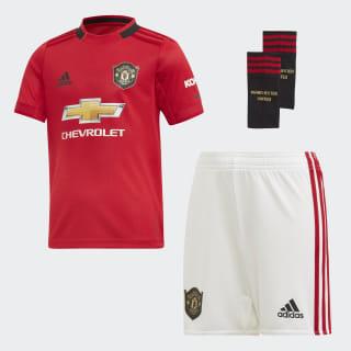 Manchester United Mini-Heimausrüstung Real Red DX8950
