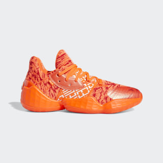 Harden Vol. 4 Shoes Scarlet / Cloud White / Solar Red EH2409