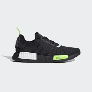 NMD_R1 Shoes Core Black / Signal Green / Cloud White EF4268