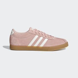Courtset Schuh Dust Pink / Running White / Gum F35767