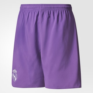 Pantaloneta de Real Madrid Away RAY PURPLE/CRYSTAL WHITE AI5196