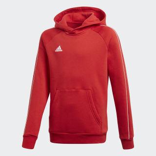Sweat-shirt à capuche Core 18 Power Red / White CV3431
