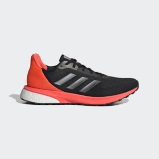 Zapatillas para correr Astrarun Core Black / Night Metallic / Solar Red EG7508
