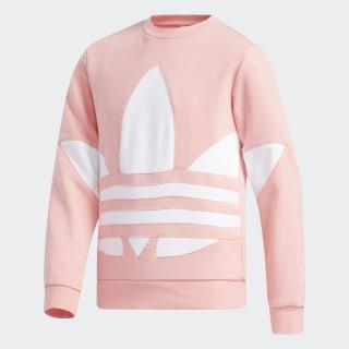 Big Trefoil Crew Sweatshirt Glory Pink / White GD5690