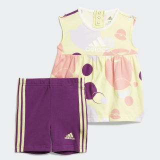 Conjunto Style Summer Yellow Tint / Glory Purple / Purple Tint / Glory Pink FM6410