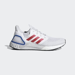 ULTRABOOST 20 City Pack Hype Cloud White / Glory Red / Team Royal Blue FX7813