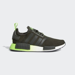 Sapatos Star Wars NMD_R1 Legend Earth / Legend Earth / Solar Green FW3941