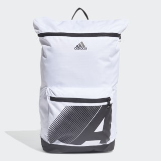 4CMTE Graphic Backpack Black / White / Black DY4894