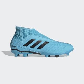 Calzado de Fútbol Predator 19.3 Terreno Firme Bright Cyan / Core Black / Solar Yellow G27923