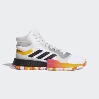 Chaussure Marquee Boost Cloud White / Core Black / Active Gold G26212