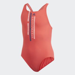 Graphic Badeanzug Core Pink / Tech Indigo FL8661