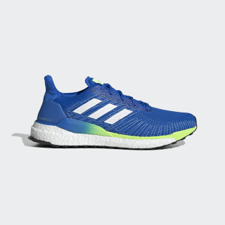 Zapatilla Solarboost 19 Glory Blue / Cloud White / Signal Green EE4326