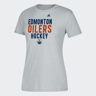 T-shirt Oilers Hockey Nhl-Eoi-5bz / Medium Grey Heather DP7754
