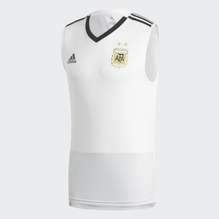 Camiseta de Entrenamiento Sin Mangas Selección de Argentina 2018 White / Blue Tint / Black CF2623