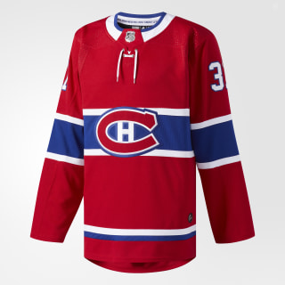 Maillot Canadiens Domicile Authentique Pro Red / Blue CA6955