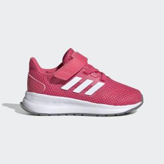 Run Falcon Schuh Real Pink / Cloud White / Grey Three EG2227