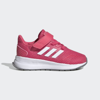 Run Falcon Shoes Real Pink / Cloud White / Grey Three EG2227