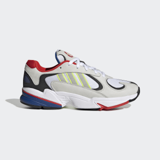 Tenisky Yung-1 Chalk White / Solar Yellow / Red EH0868