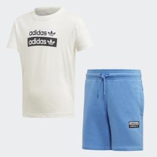 Conjunto R.Y.V. Shorts Core White ED7788