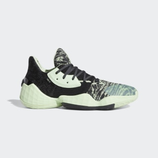 Harden Vol. 4 Shoes Glow Green / Core Black / Carbon EF1000