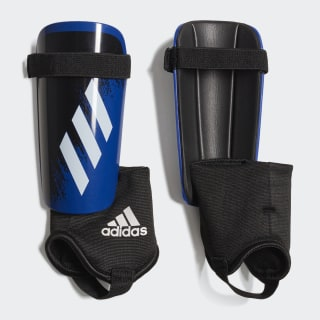 X 20 Match Shin Guards Team Royal Blue / White / Black FS6595