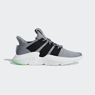 Prophere sko Grey Three / Core Black / Shock Lime B37464