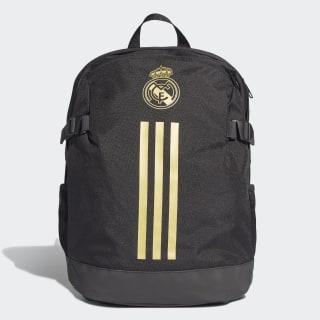 Mochila Real Madrid black/dark football gold DY7716