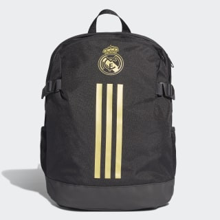 Real Madrid Backpack Black / Dark Football Gold DY7716