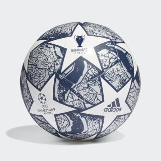 Balón UCL Finale Estambul Club White / Dark Blue / Silver Metallic FH7378