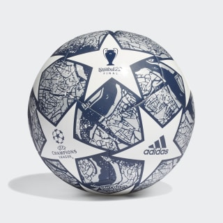 Bola UCL Finale Istanbul Club White / Dark Blue / Silver Metallic FH7378