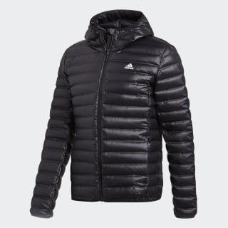 เสื้อดาวน์แจ็คเก็ตมีฮู้ด Varilite Black BQ7782