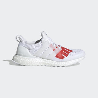 Chaussure adidas x UNDEFEATED Ultraboost White / White / Red EF1968