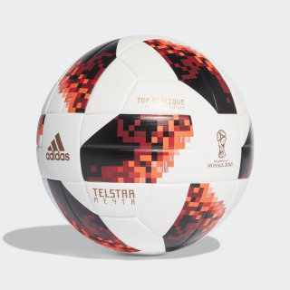 FIFA World Cup Knockout Top Replique Ball White / Solar Red / Black CW4683