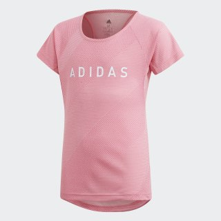 Playera Branded semi solar pink / white DV2744