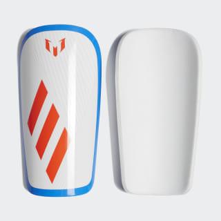 Lesto Messi Shin Guards White / Crystal White / Football Blue / Solar Yellow DX7746