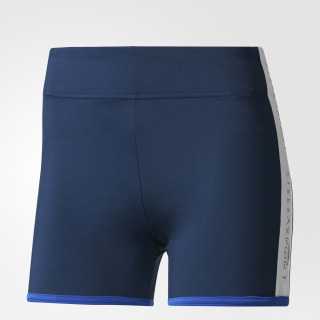 Mallas adidas STELLASPORT Short Night Indigo / White BS1221